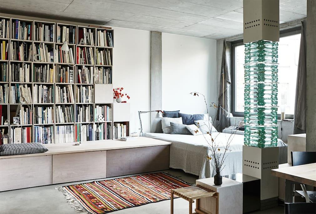 Contemporary studio apartamentos en alquiler en berl n for Apartamentos en berlin