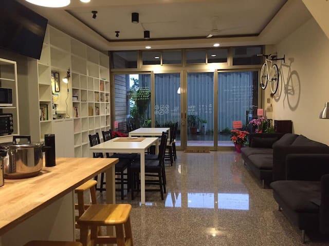 大里驛青年旅館, 8人客房 8 beds Dormitory - 頭城鎮 - Slaapzaal