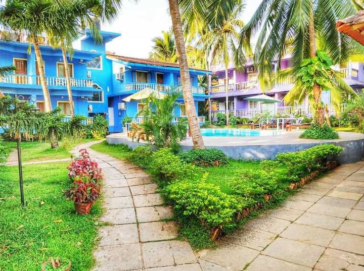 Soft BnB Room With Pool-Calangute Beach DJB