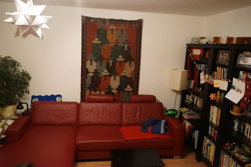 living room / Wohnzimmer - couch