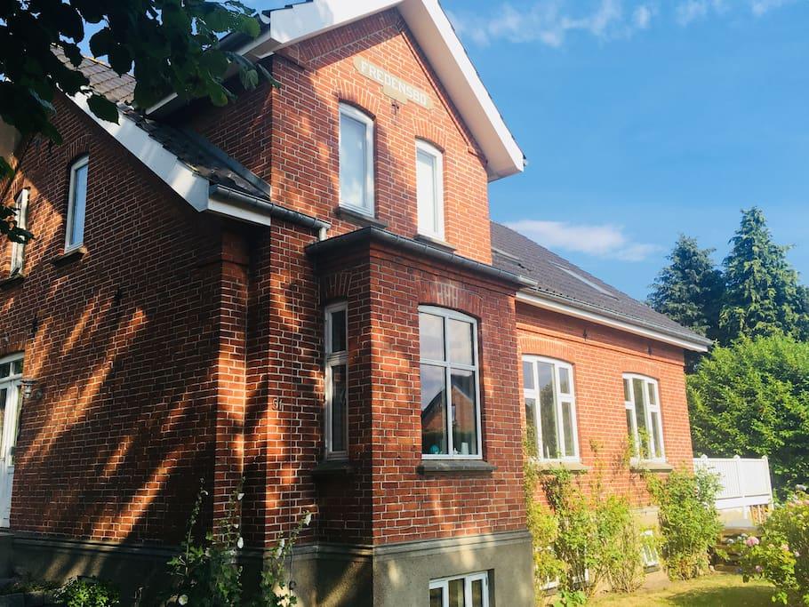 Huset blev bygget i 1907.