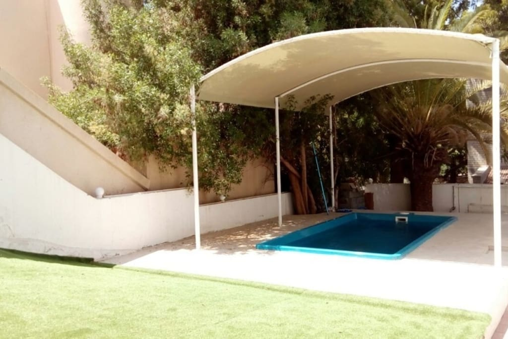 covered private pool for % 100 privacy