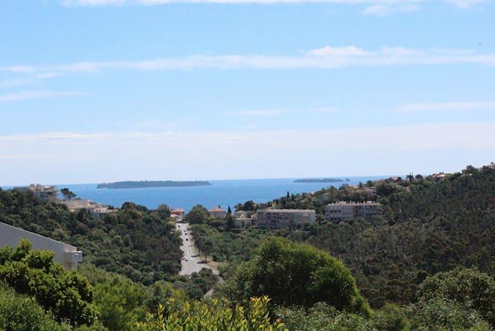 MAISON VUE MER Proche plages & randos - Mandelieu-la-Napoule - Rumah