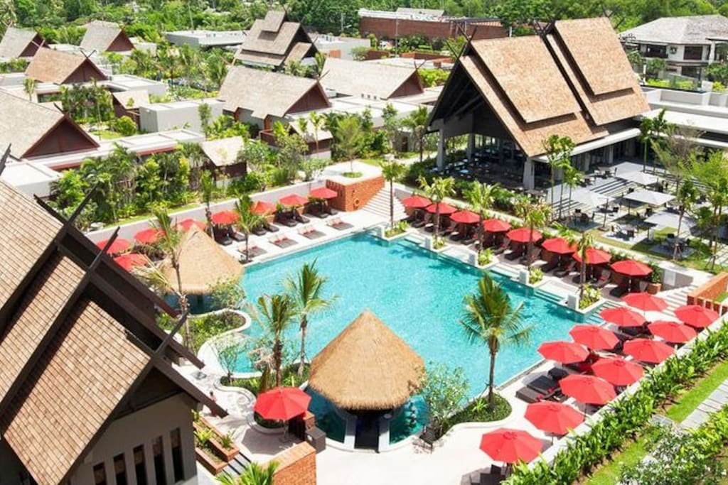 Main pool and surrounding resort