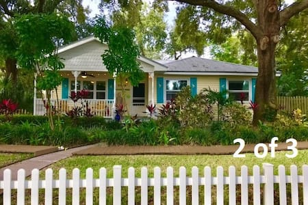 Key West style home- Two single beds- private room - Saint Petersburg