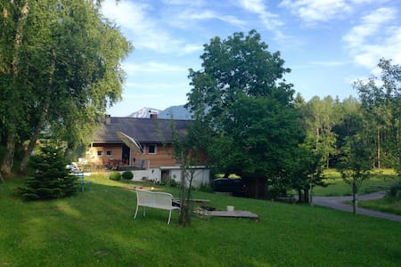 Quiet Mountain Retreat near lake Wörth - Zedras - Rumah