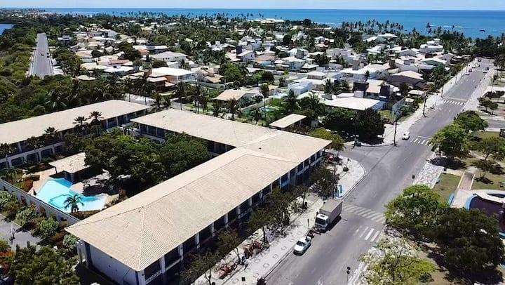 Flat 108 Guarajuba Summer Flat Beira Mar 6 pessoas