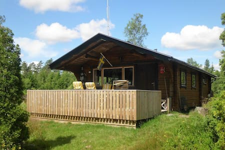 Schwedisches Holzhaus in Böle (Haus A) - Böle - Casa