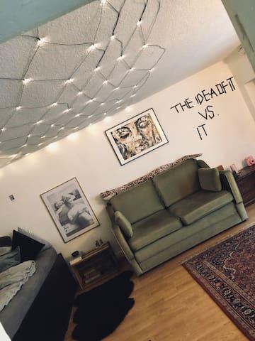 Ruhige, kreative Wohnung im Herzen von St.Pauli