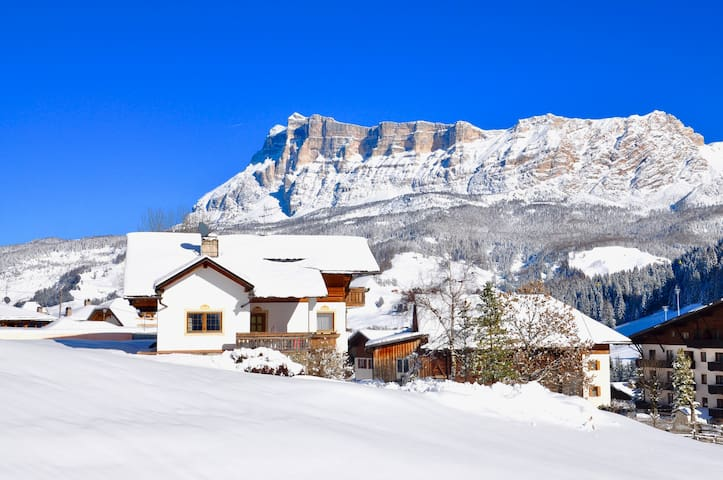 Winter Panorama Apartments Fisti in Alta Badia - Dolomites