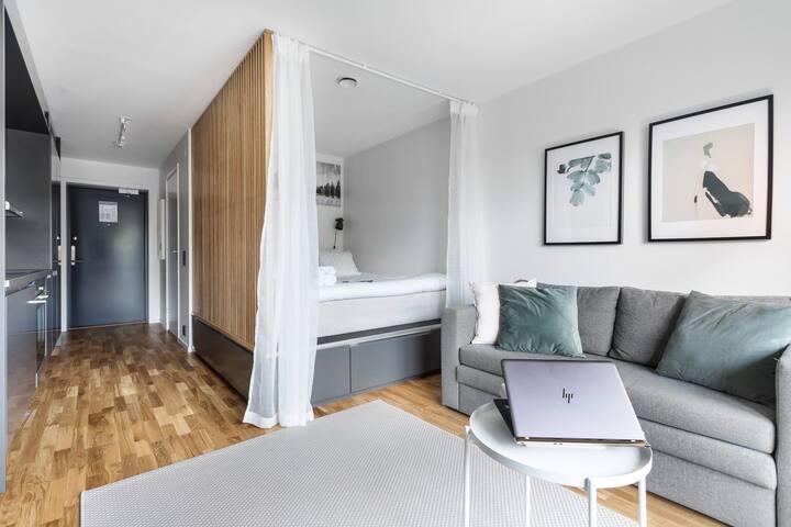 Luxuary Lägenhetshotell 20 min från city #A301