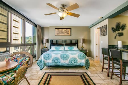 Mountain View Studio | Steps to Waikiki Beach
