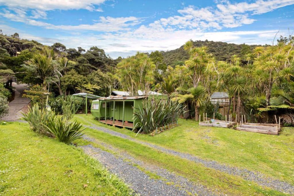 Humble accomodation in the foothills of the Waitakere forest