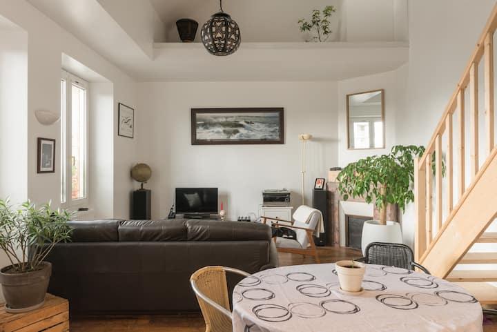 Grande chambre sous les toits - Vilaine / Thabor