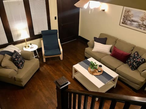 Sweet Suite Spruce~ Fresh new Bnb in the ❤️ of EC !