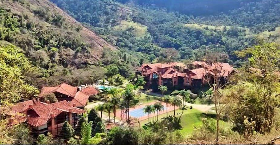 Vilarejo das Cachoeiras - Um pedacinho do paraíso - Secretario - Leilighet