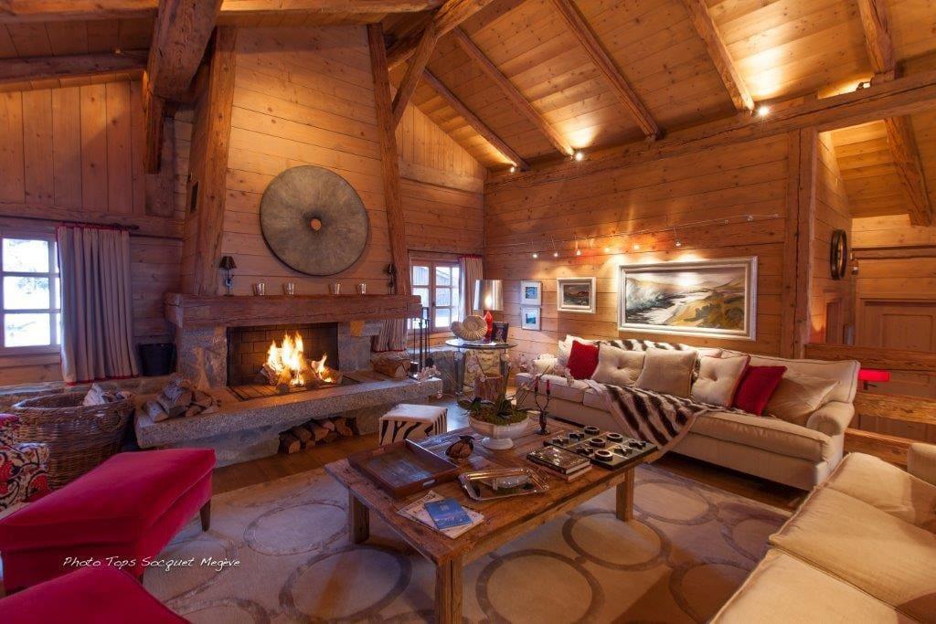 Luxury comfort Chalet Le Ferme Combloux