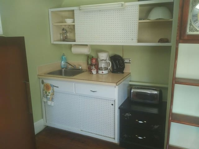 Suite kitchenette.