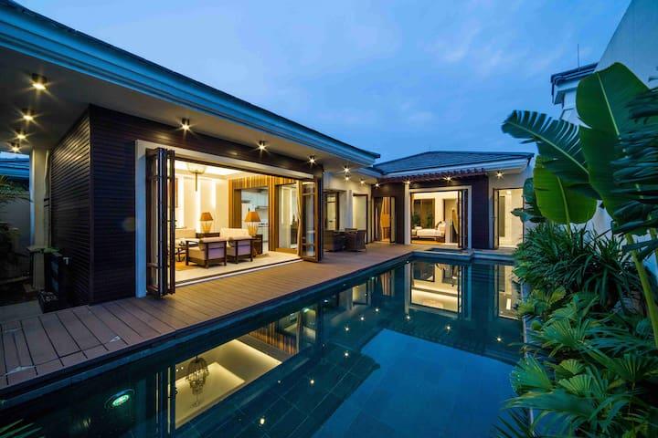 【候鸟水榕庄】印度洋风情别墅两房一厅私家泳池