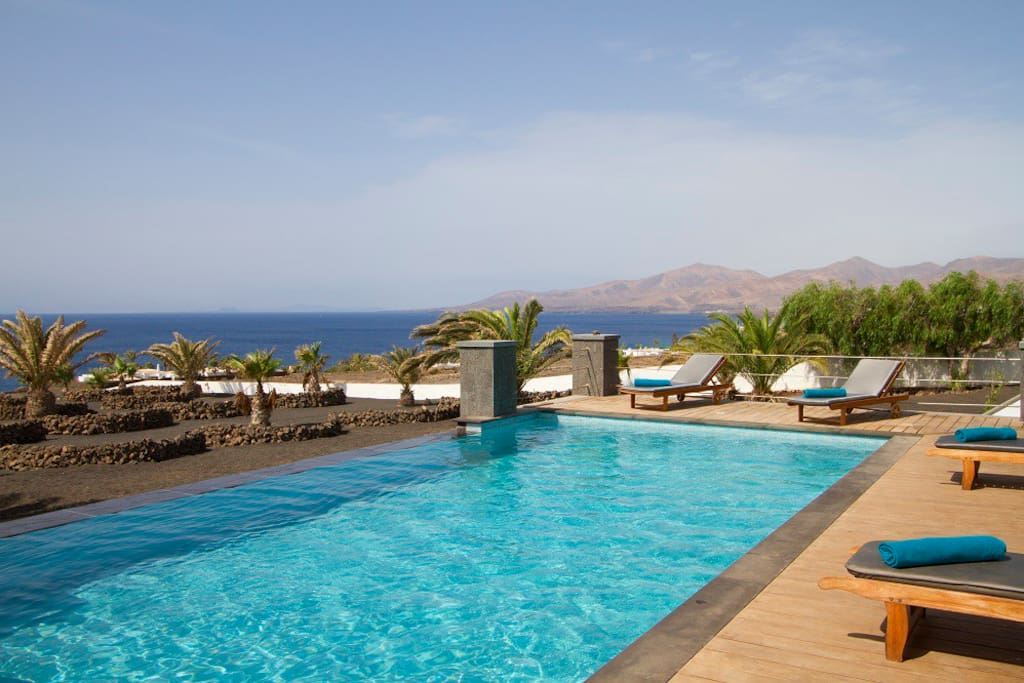 Relax by the pool and just enjoy the view