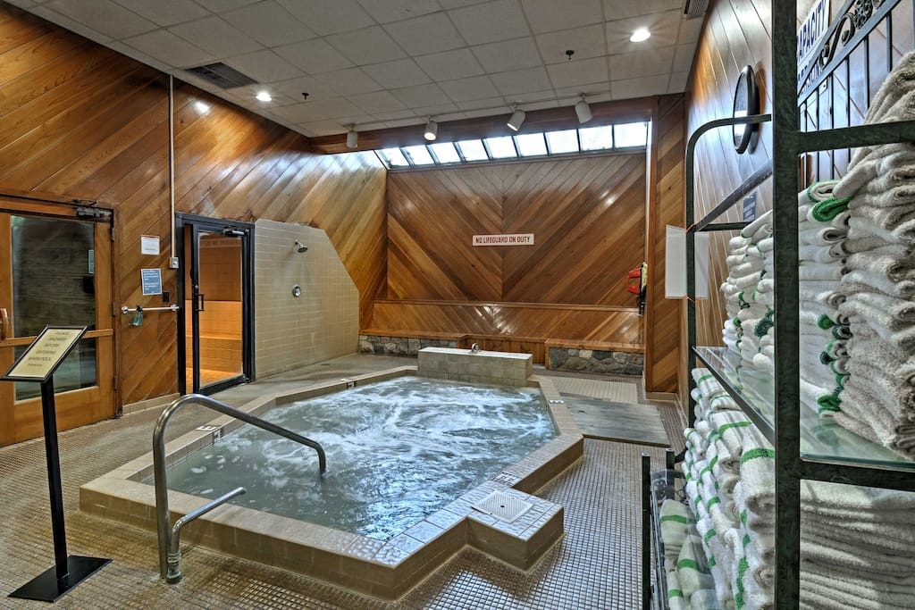You'll enjoy home amenities plus resort-style features such as a community hot tub during your stay.