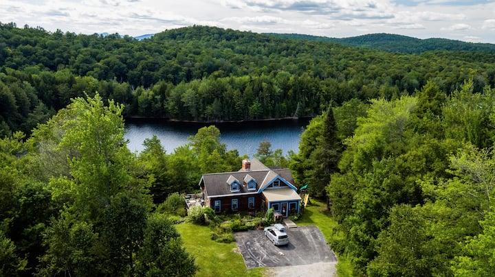 Green River Reservoir State Park Log Home