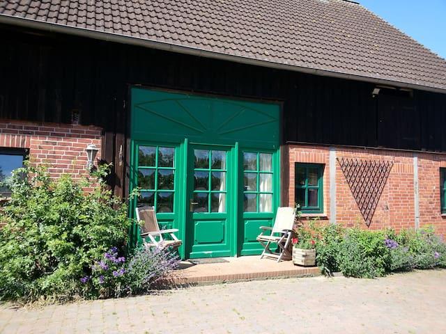 Ferienwohnung Hof Bais - Natur pur - Grebin - Appartement
