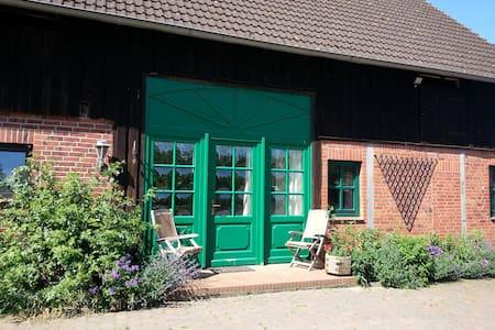 Ferienwohnung Hof Bais - Natur pur - Grebin - Apartamento
