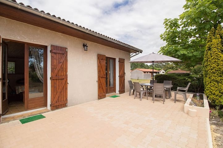 Pleasant house large garden 5 people of 75 m2 - MIMIZAN BOURG