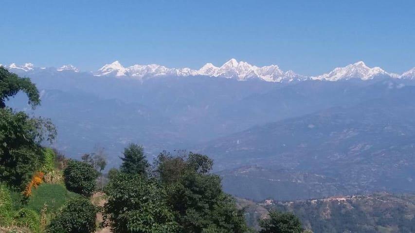 Himalayas - Langtang Range View