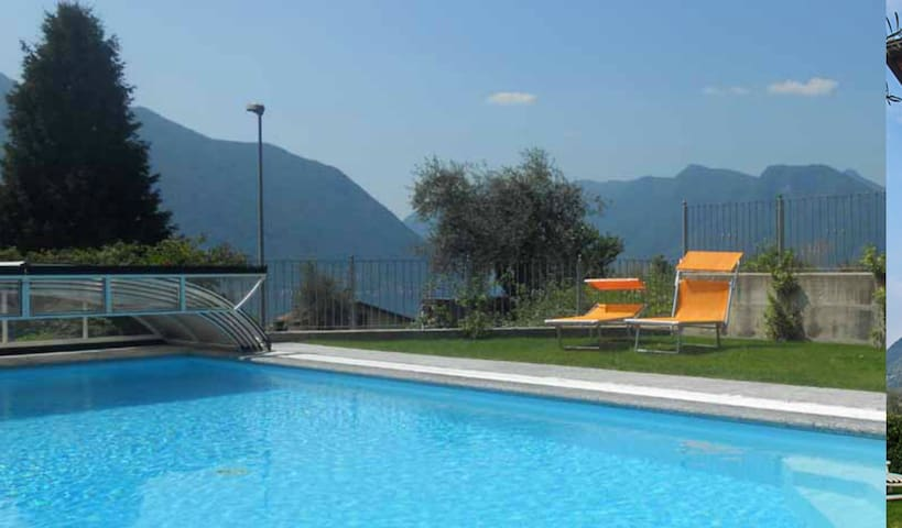 Enjoy the sharing heated pool open from May till 1st October