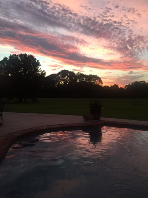 Beautiful Country Sunsets and Stars Galore!