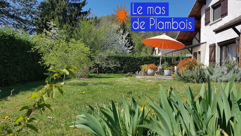 Belle villa bohème, nature, climatisée, proche lac