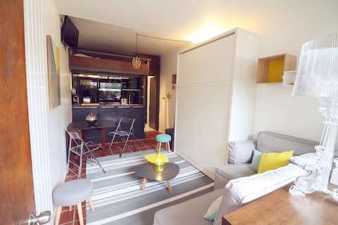 Studio 17 m2 Ramatuelle avec accès direct à la mer
