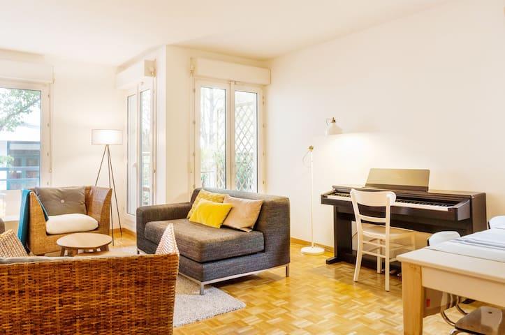 Stylish, Parisian apartment - Rueil-Malmaison - Appartement