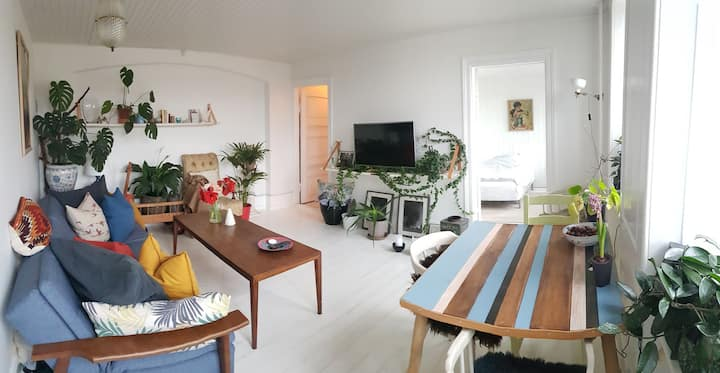 Nordic design apartment, big and bright