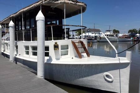 Beautifull 54' yacht built for Andrew Carnegie - Kemah - Boot