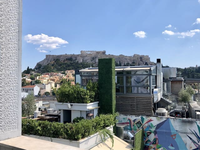 1 BEDROOM APT - ACROPOLIS VIEW PRIVATE TERRACE