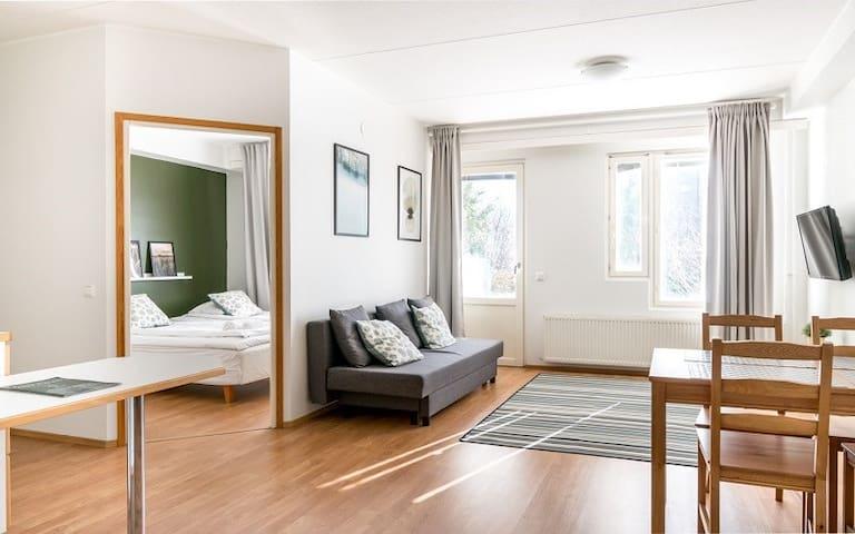 Standard Apartment, 1 Bedroom, Sauna, Balcony - Lautamiehentie 4