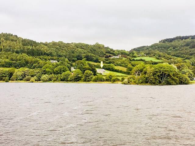 Luxury lakeside home near Dromahair & Sligo town