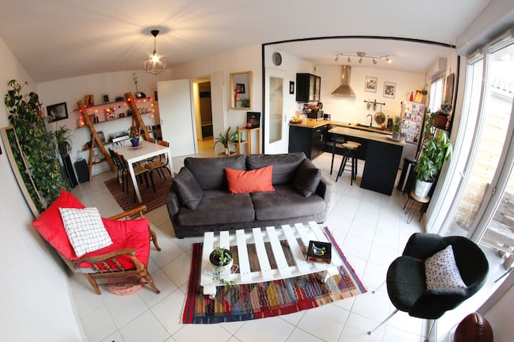 Full cosy Apartment in Toulouse - Toulouse - Departamento