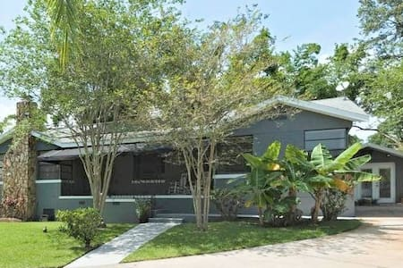 Private Riverfront Guesthouse in Seminole Heights