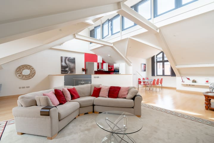 ⭐️Heart of Oxford 3 Bed Duplex Penthouse Flat⭐️