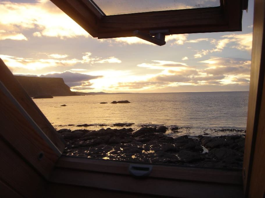 Bedroom view .. at low tide ...