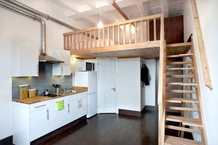 Luxury Mezzanine Studio Flat - London - Flat