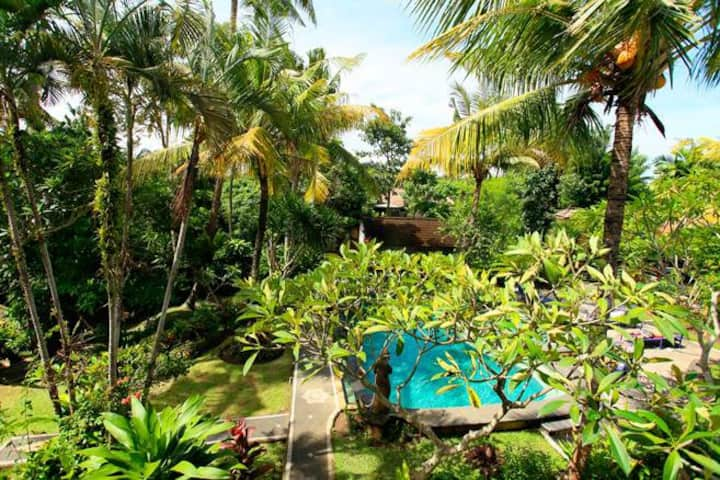 Airconed room in central Ubud with pool/226