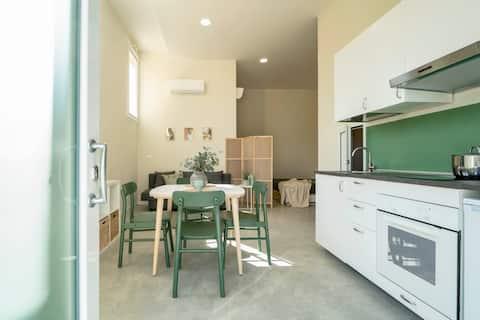 Fir Studio appartement IN SLIMME aanbieding.