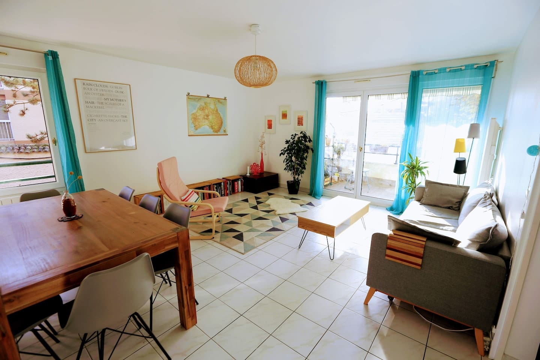 Sunny lounge room
