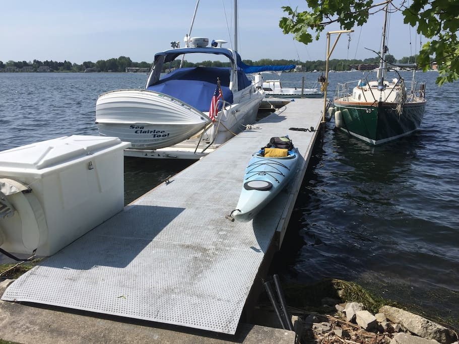 Dock space is available for your own boat but message to check on availability and rate.