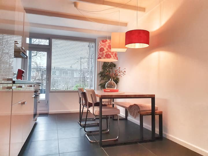 City vibe apartment with roof terrace